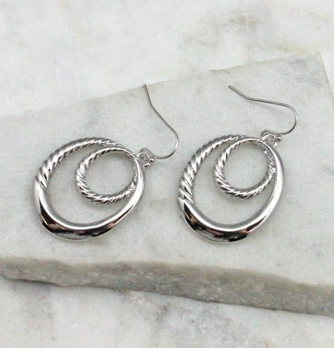 A photo of the Lani Earrings In Silver product
