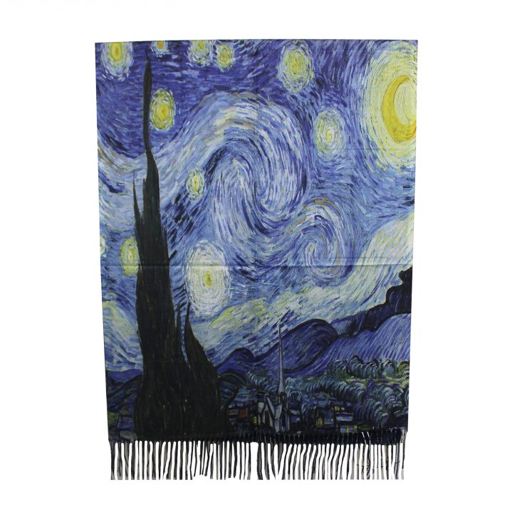 A photo of the Starry Night Scarf product
