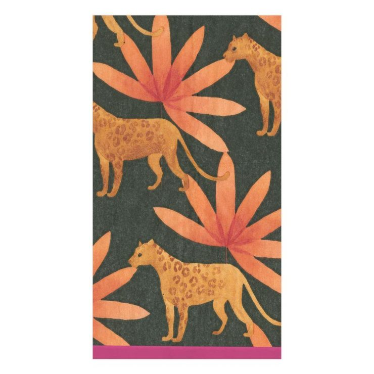 A photo of the Panthera Paper Guest Napkins product