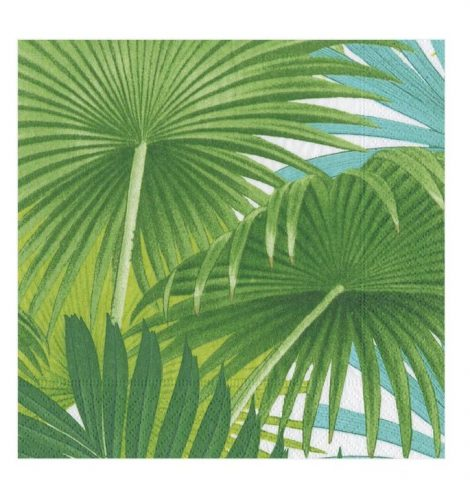 A photo of the Palm Fronds Cocktail Napkins product