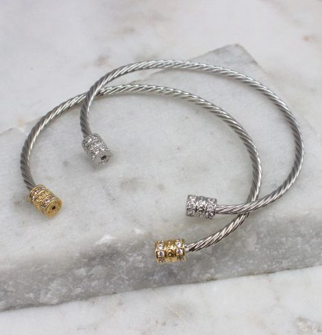 A photo of the Barrel Cuff Bracelet product