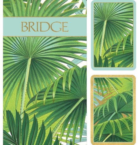 A photo of the Palm Fronds Bridge Gift Set product
