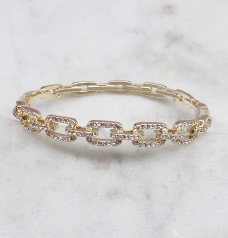 A photo of the Rhinestone Link Bracelet product