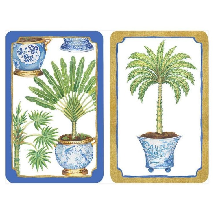 A photo of the Potted Palms Playing Cards product