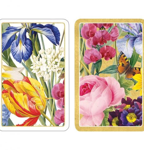 A photo of the Redoute Floral Playing Cards product