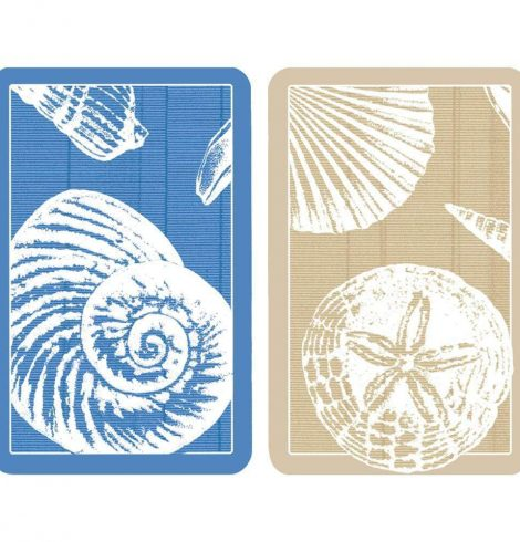 A photo of the Shells Playing Cards product