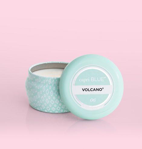 A photo of the Volcano Aqua Printed Mini Tin product