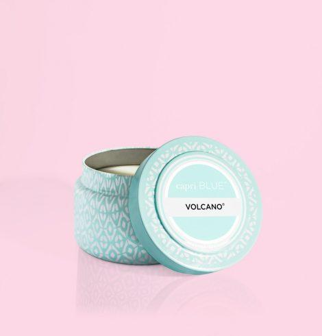 A photo of the Volcano Aqua Printed Travel Tin product