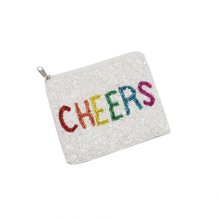 A photo of the Beaded Cheers Coin Purse product