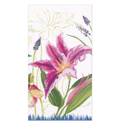 A photo of the Isabelle's Garden Guest Towel Napkins product
