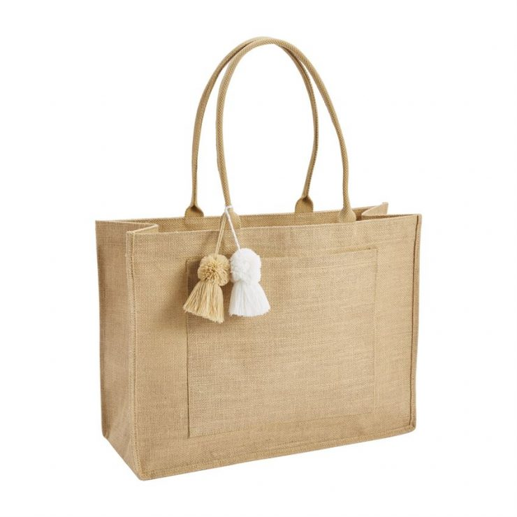 A photo of the Natural Jute Tote product