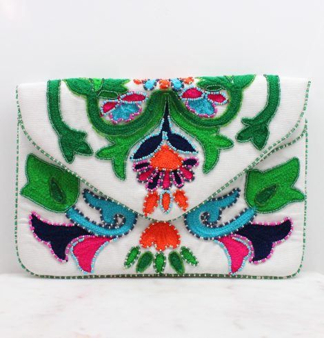 A photo of the Fiesta Beaded Handbag product