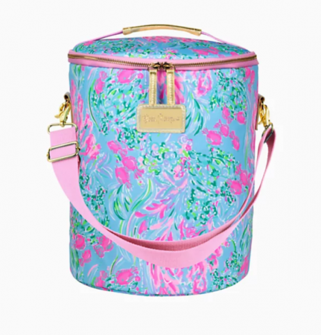 A photo of the Lilly Pulitzer Beach Cooler In Best Fishes product