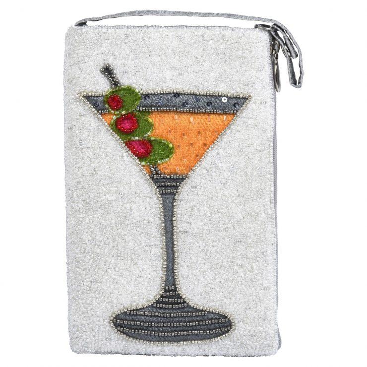 A photo of the Martini Beaded Handbag product