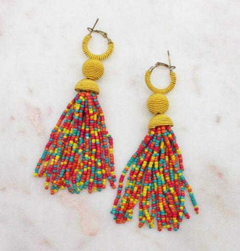A photo of the Tinsley Earrings In Multi Color product