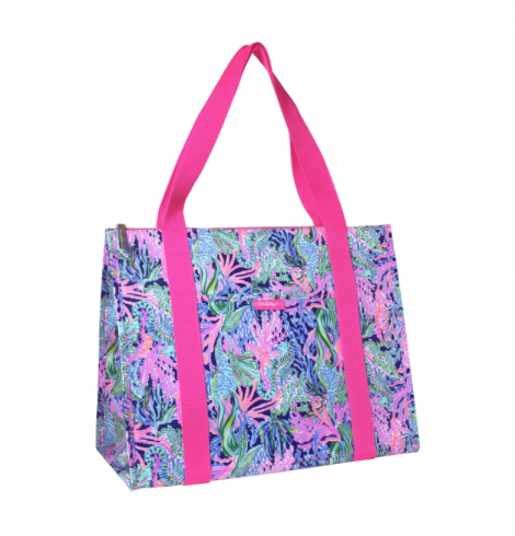 A photo of the Lilly Pulitzer Insulated Market Shopper product