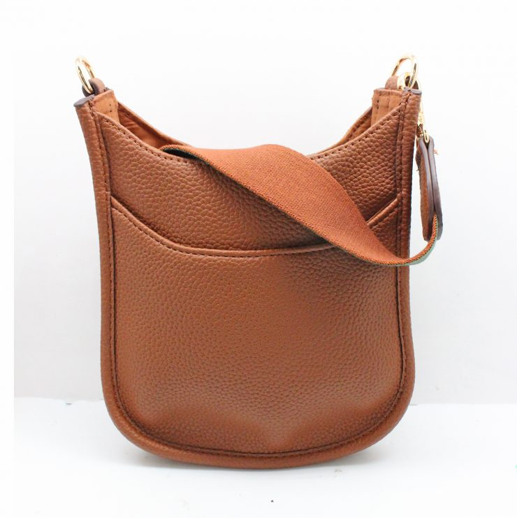 A photo of the Mini Messenger Bag In Camel product
