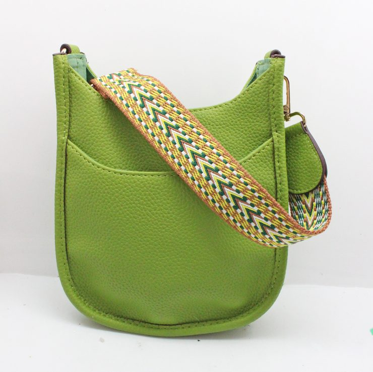 A photo of the Mini Messenger Bag In Lime product