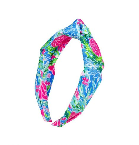 A photo of the Lilly Pulitzer Headband In Bunny Business product