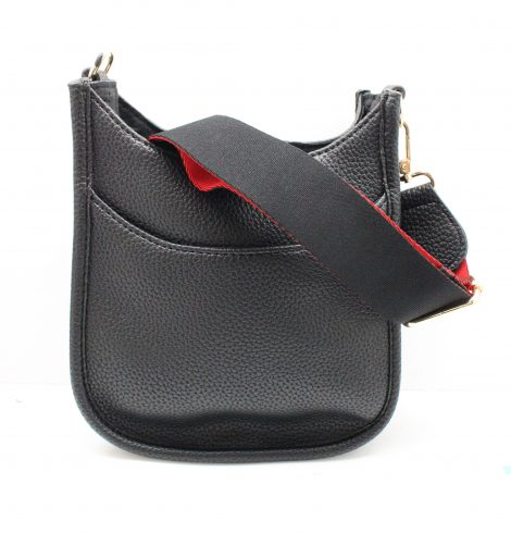 A photo of the Mini Messenger Bag In Black product