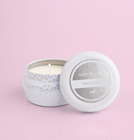 A photo of the Volcano White Mini Tin product
