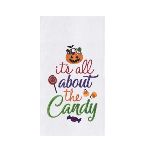 A photo of the All About The Candy Kitchen Towel product
