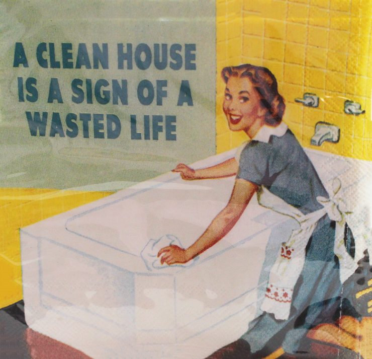 A photo of the A Clean House Napkins product