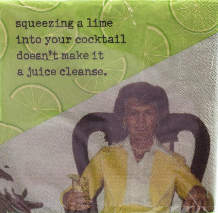 A photo of the Juice Cleanse Napkins product