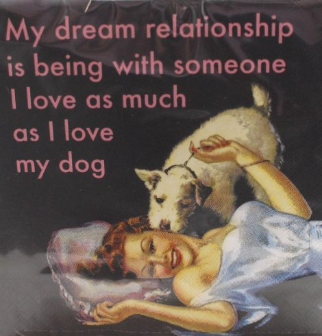 A photo of the Dream Relationship Napkins product