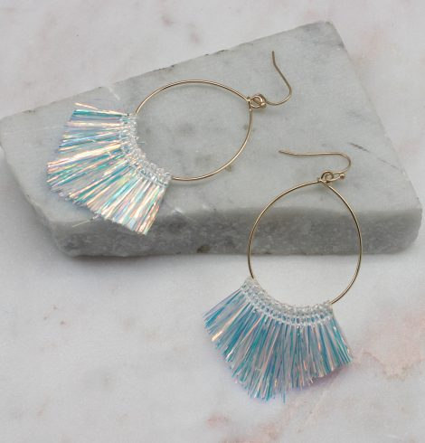 A photo of the Tinsel Earrings product
