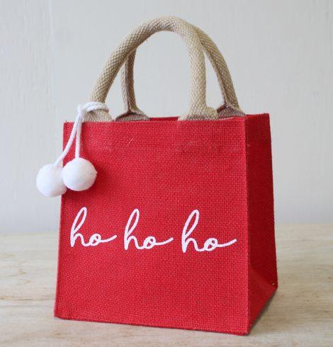 A photo of the HO HO HO Small Gift Tote product