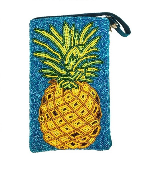 A photo of the Pineapple Crush Crossbody Handbag product