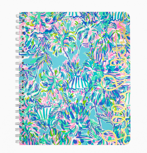 A photo of the Lilly Pulitzer Notebook In Cabana Cocktail product
