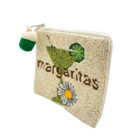 A photo of the Margarita Beaded Coin Purse product