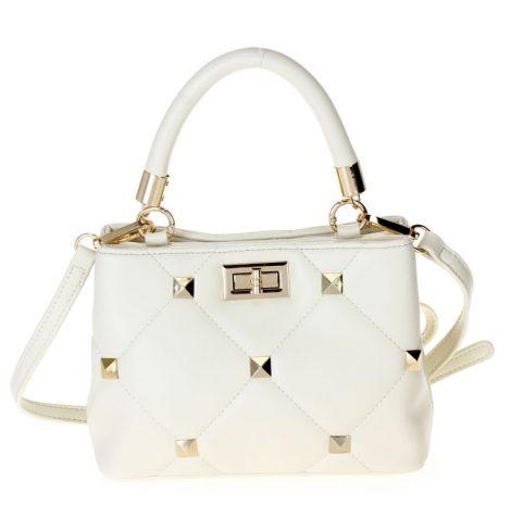 A photo of the Jessa Handbag In Ivory product