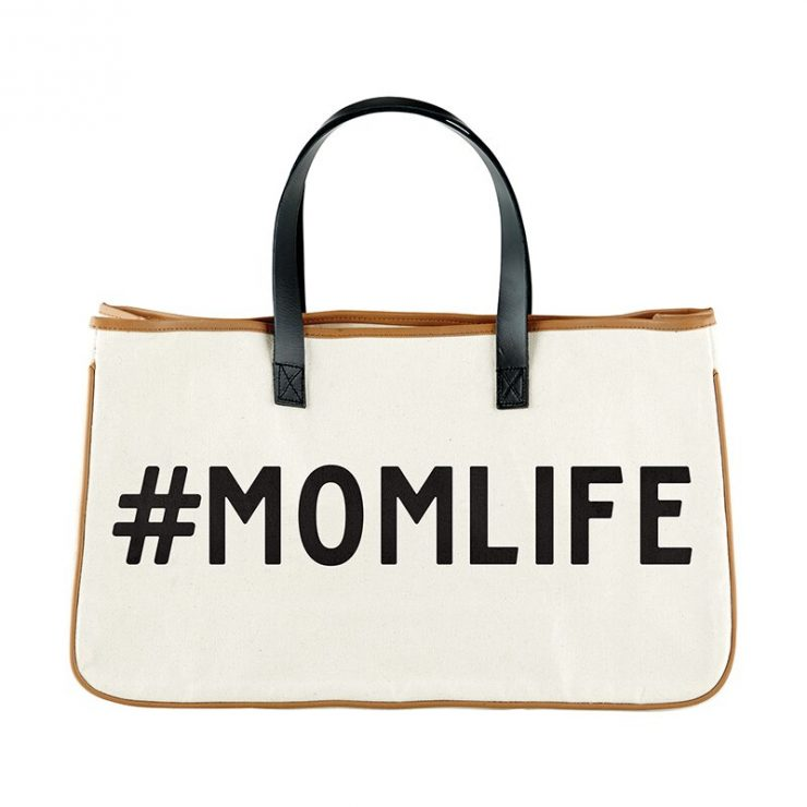 A photo of the #Mom Life Tote product