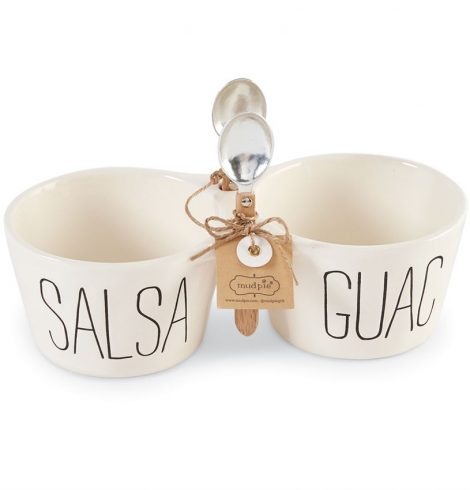 A photo of the Salsa And Guac Double Dip Set product