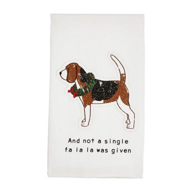 A photo of the FA LA LA Dog Towel product