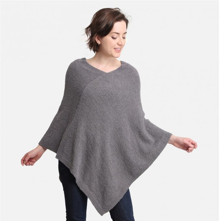 A photo of the Cozy Luxe Poncho product