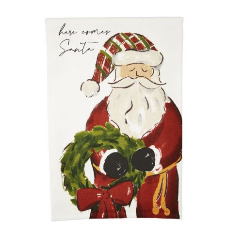 A photo of the Here Comes Santa Towel product
