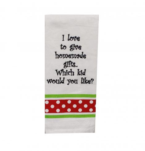 A photo of the Homemade Gifts Kitchen Towel product