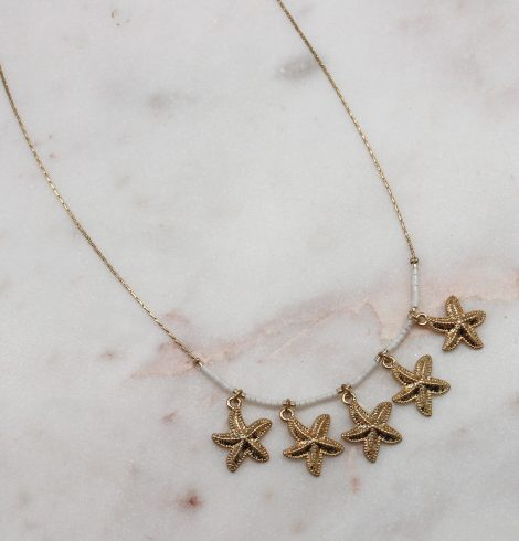 A photo of the Lucky Starfish Necklace product