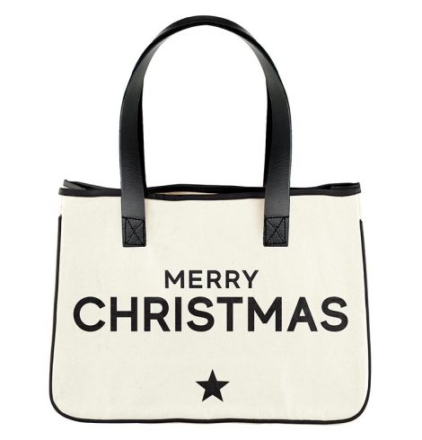 A photo of the Merry Christmas Tote product