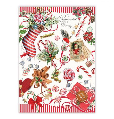 A photo of the Peppermint Kitchen Towel product