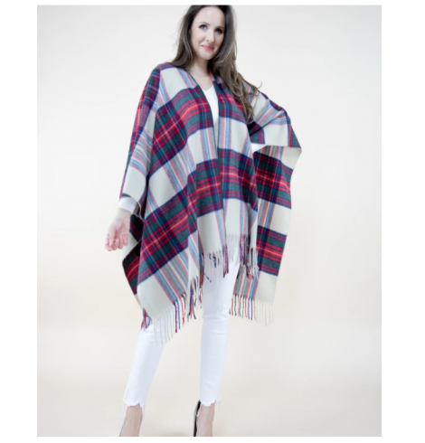 A photo of the Plaid Wrap product