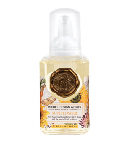 A photo of the Mini Foaming Hand Soap In Sunflower product