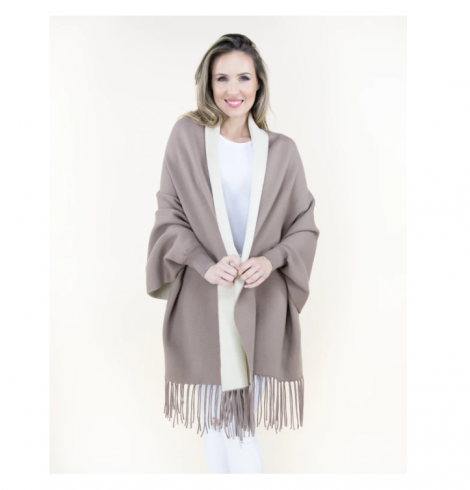 A photo of the Sweater Shawl product