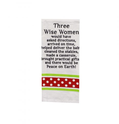 A photo of the Three Wise Women Kitchen Towel product