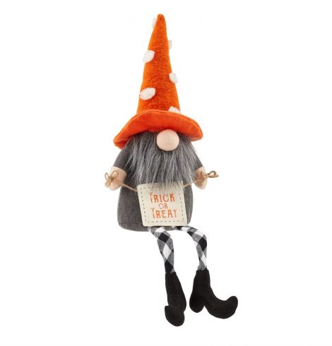A photo of the Dangle Leg Polka Dot Gnome product