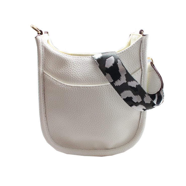 A photo of the Mini Messenger Bag In White product